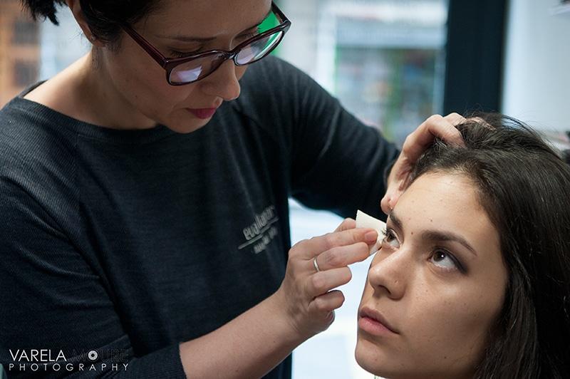 bases empleadas: face&body de MAC y MakeupForever