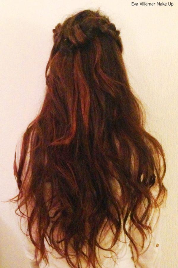 Mis propuestas, mis peinados… hoy un semirecogido