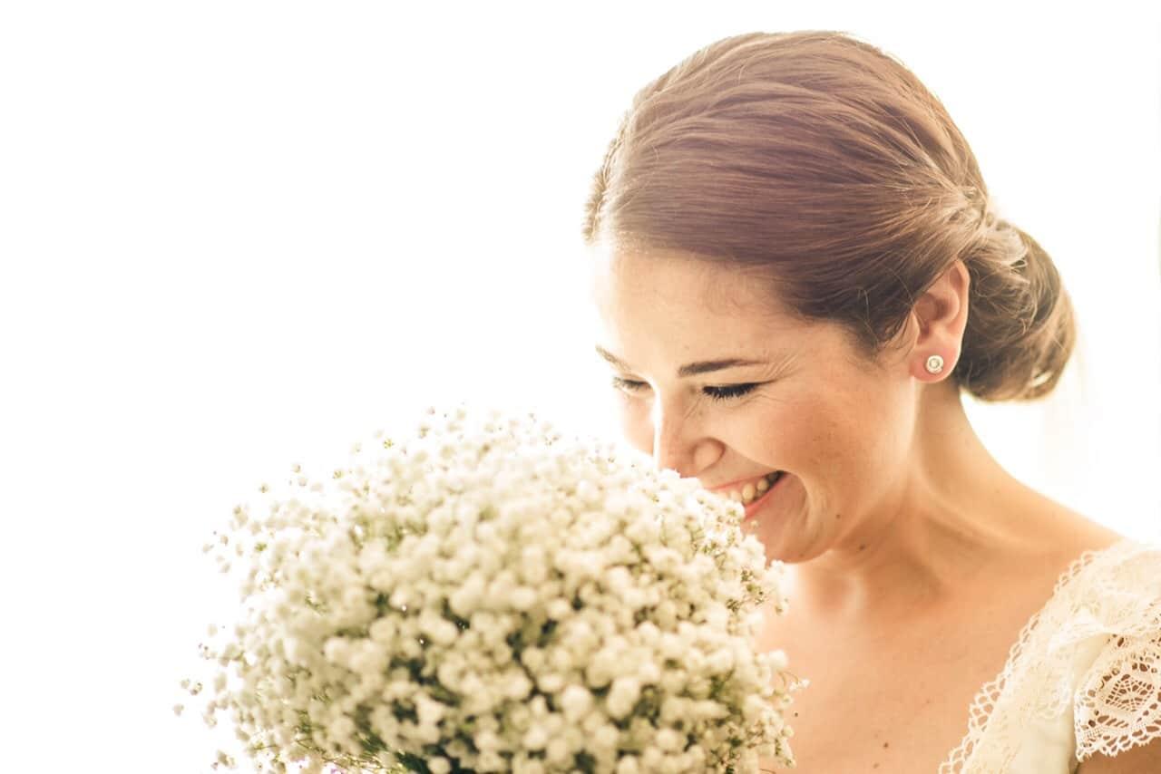 La bella Vanessa, en el día de su boda