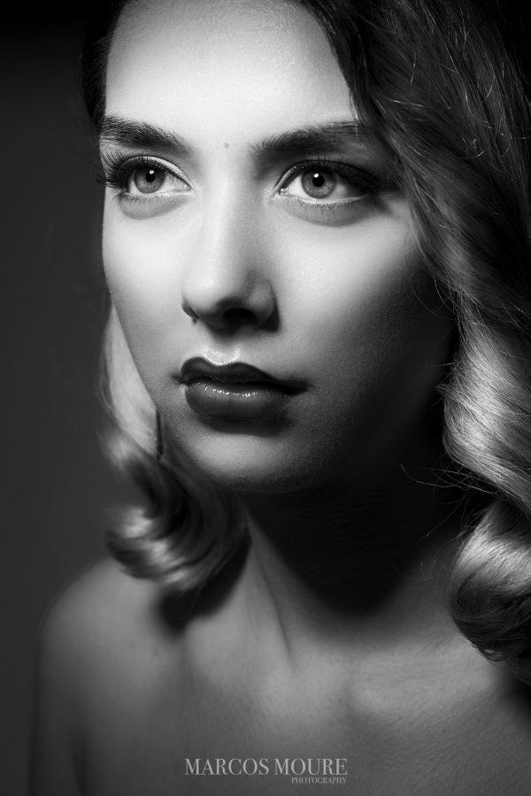 La belleza en los años 40 y una sesión de fotos única: Hollywood Glamour